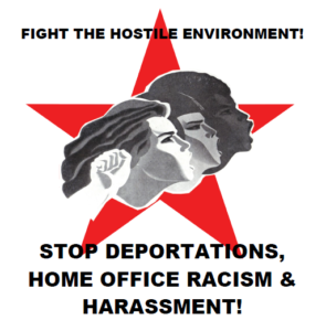 Fight The Hostile Environment! - Public Meeting